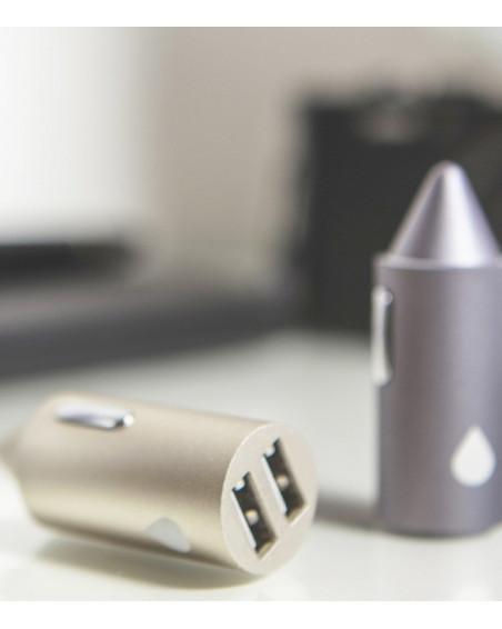 Chargeur voiture double USB JUICIES