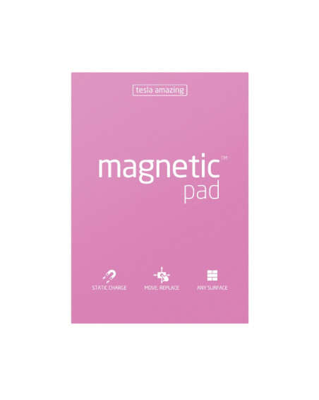 Lot de 5 Magnetic Pad Tesla Amazing A4