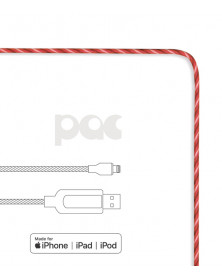 Câble lumineux The Pac pour iPhone Lightning