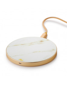 Chargeur sans fil Carrara Gold & Or de Marie Wolt