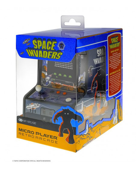 Lot de 2 Micro Player My Acarde SPACE INVADERS