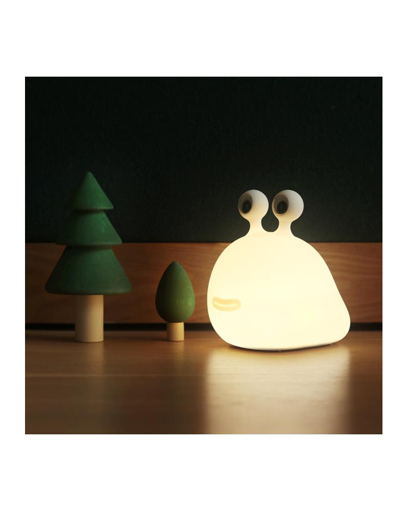 Lampe de chevet sans fil Sluglight by Muid