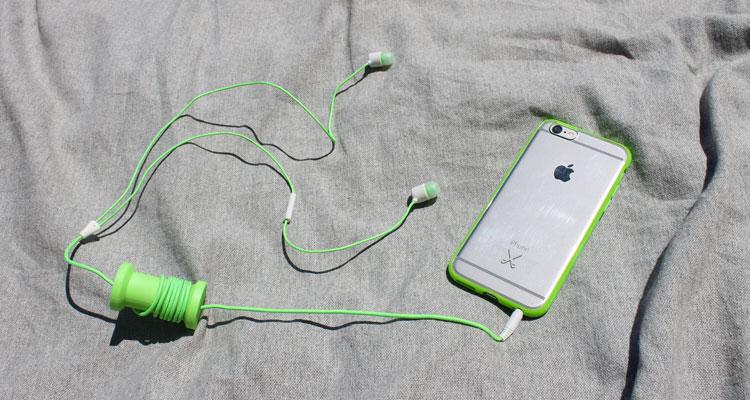 Philo Ecouteurs Green