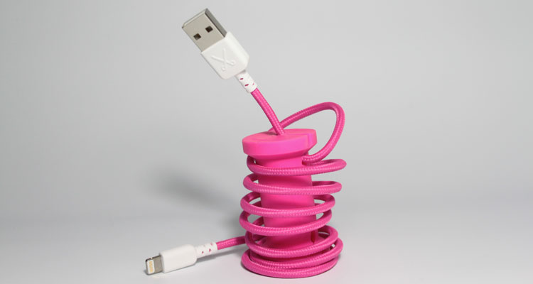 Philo cable iPhone Pink