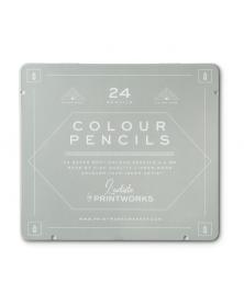 Boîte de 24 Crayons de Couleur Classique