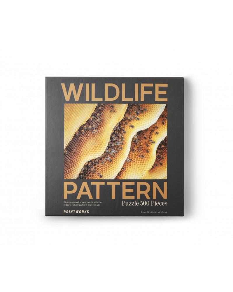 Puzzle - Wildlife Pattern